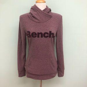Bench   Women's Maroon Fleece Sweater